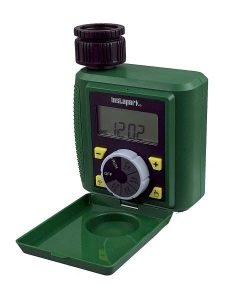 Instapark PWT-07 Outdoor Waterproof Digital Programmable Single Outlet Automatic On Off Water Faucet Hose Timer