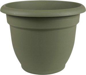 Bloem 20-56420 Fiskars 20 Inch Ariana Planter with Self-Watering Grid, Thyme,