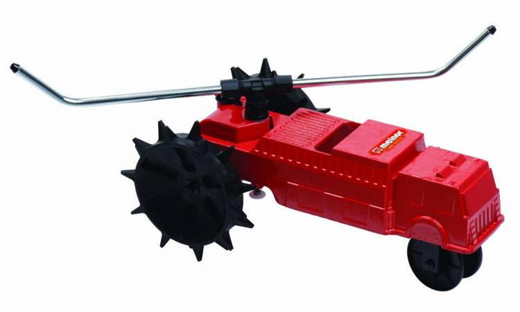 Melnor 4501 Traveling Sprinkler Lawn Rescue 13,500 sq. ft. Coverage Variable Speed Control with Adjustable Spray Arms