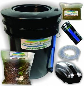 The Atwater HydroPod Standard AC Powered DWC Deep Water Culture Recirculating Drip Hydroponic Garden System Kit