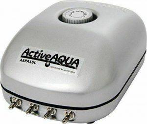 Active Aqua Air Pump 4 Outlets and 6 Watts