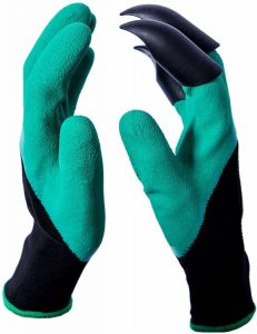 CandyHome Garden Gloves with Claws for weeding