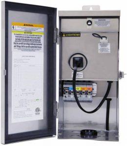 Lightkiwi W9715 300 Watt (12V 13V 14V 15V) Multi Tap Low Voltage Transformer for Landscape Lighting