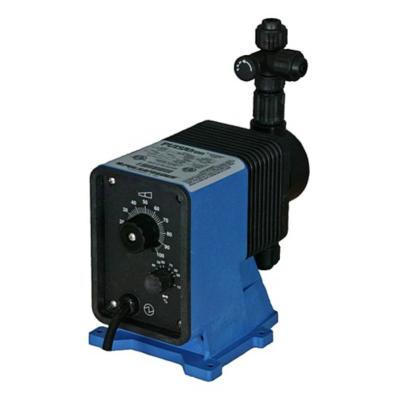 PULSAFEEDER LB64SA PTC1 XXX PULSAtron Series A Plus Metering Pump with Dual Manual Control
