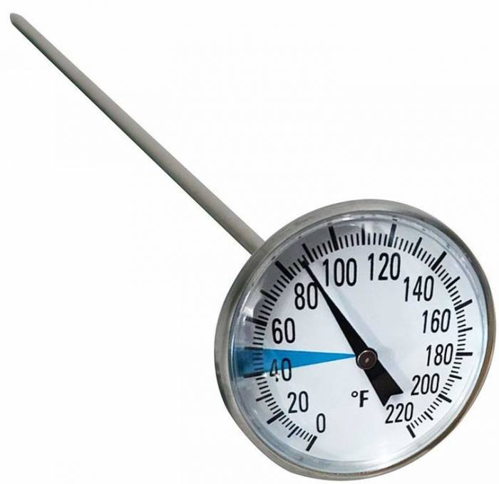 Stainless Steel Soil Thermometer by Smart Choice