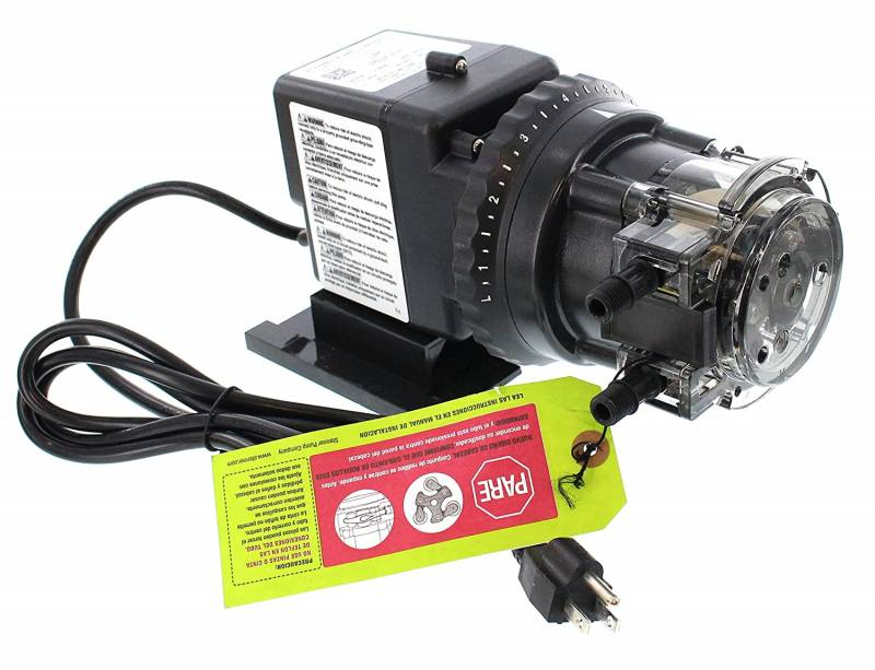 Stenner Pump 85mhp17. Stenner Peristaltic Pump Adjustable Head Rated at 0.8 to 17.0 gpd adjustable head. Rated at 100 psi