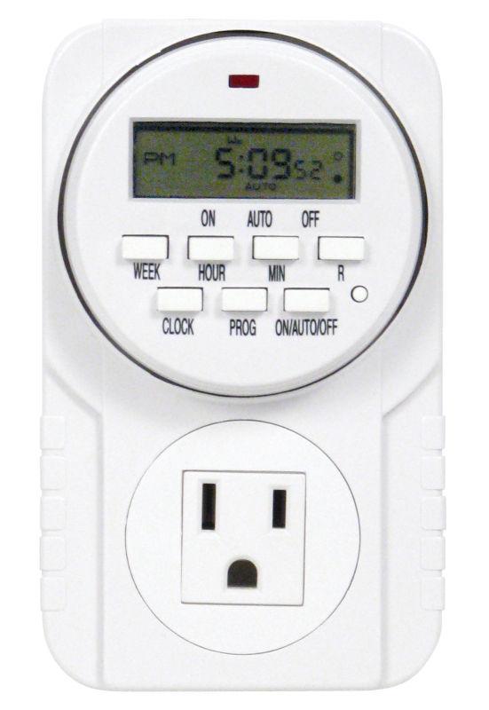 Titan Controls® Apollo® 7 One Outlet Digital Timer