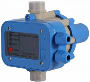 Water Pump Controller, Automatic Water Pump Pressure Switch Elctric Electronic Switch Controller, 110V