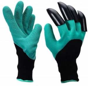 YTH Garden Gloves with Claws, Great for Digging Weeding