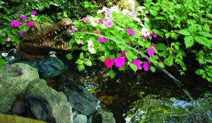 Aquascape Alligator Fountain Spitter for Pond