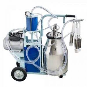 Enshey Electric Milking Machine 25L 550W Argricultural Portable Stainless Steel Farm Ewe Milking Milker