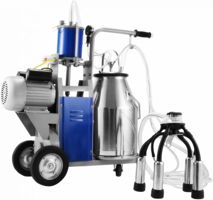 Popsport Electric Milking Machine 110V 1440 RPM Portable Milking Machine
