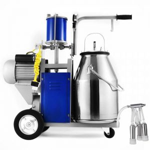 VEVOR Milking Machine 1440 RPM 10 12 Cows Per Hour Electric Milking Machine