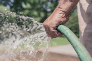 Bursting garden hose causes