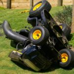 Can You Tip A Riding Lawn Mower On The Side?