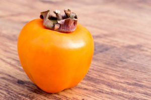 Telling if a persimmon is ripe